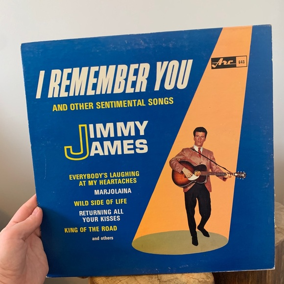 VINTAGE / 🇨🇦 Record / Country / Jimmy James